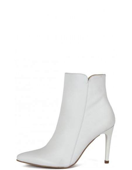 Botines Stivali Malta Cuero Blanco